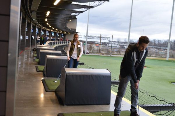 Josh Ciara Top Golf
