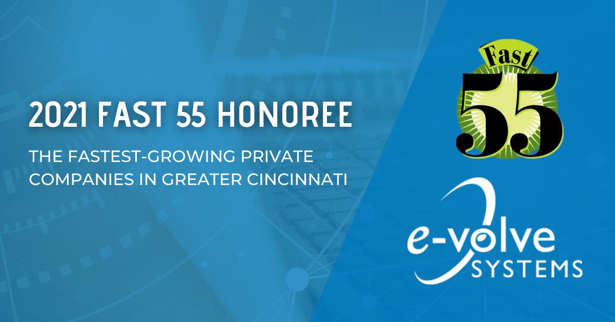 EVolve Systems Fast55 controls engineering Cincinnati